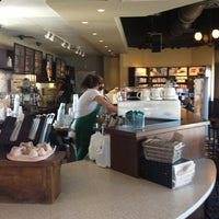Photo taken at Starbucks by Monica G. on 10/10/2012
