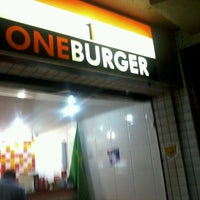 Photo taken at One Burger by Paulo on 7/19/2013