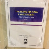 Photo taken at Grand Ballroom @ The Royale Chulan by Paan J. on 6/2/2016