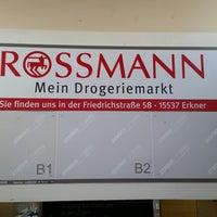 Photo taken at Rossmann by Thomas H. on 10/17/2014
