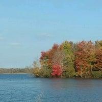 Photo taken at Portage Lakes State Park by Bryon C. on 10/23/2016
