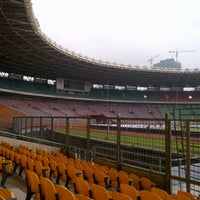 Photo taken at Stadion Utama Gelora Bung Karno (GBK) by Muh S. on 7/13/2013