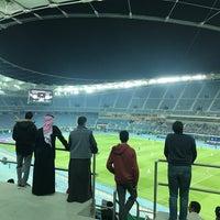 Photo taken at Jaber AlAhmad International Stadium by Bo 3. on 2/21/2017