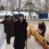 Photo taken at Речной порт by Olga S. on 1/19/2017