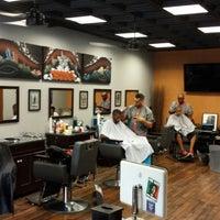 Photo taken at Bespoke Barber Shop by Mohamed K. on 7/12/2013