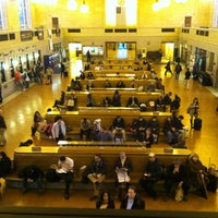 Photo taken at New Haven Union Station (NHV) - Metro North/Amtrak/Shore Line East by Matt C. on 3/29/2013
