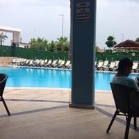 Photo taken at Katya Hotel Swiming Pool by Марат Ш. on 5/5/2014