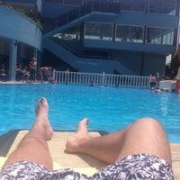 Photo taken at Katya Hotel Swiming Pool by Марат Ш. on 5/3/2014