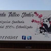 Photo taken at Panda tattoo studio by Panda H. on 7/12/2013