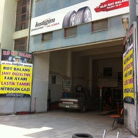 Photo taken at Elif Rot Balans Lassa&brıdgestone Bayii by Mustafa T. on 7/14/2013