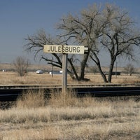 Photo taken at Julesburg, CO by Ashley G. on 7/13/2013