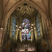 Photo taken at Église Monolithe by Axel J. on 11/3/2017