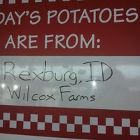 Photo taken at Five Guys by H D Auston M. on 10/22/2012