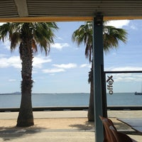 Photo taken at The Wharf Shed Café by Michele on 1/1/2013