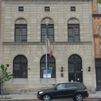 Photo taken at New York Public Library - 125th Street Library by Ed H. on 5/22/2014