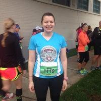 Photo taken at Rock N sole 1/2 Marathon by Megan K. on 6/13/2015