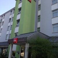 Photo taken at ibis Hotel Frankfurt City West by Chaehee K. on 7/13/2013