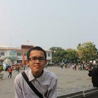 Photo taken at Taman Stasiun Kota by sulfikar U. on 10/8/2013