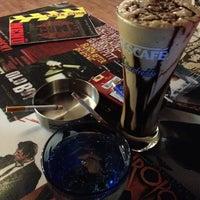 Photo taken at Cine Cafe by Zehra Ç. on 7/29/2013