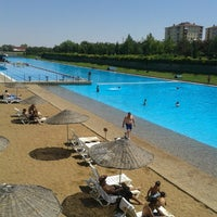 Photo taken at Kentpark Konakları Havuz by Xxxxx X. on 8/8/2013