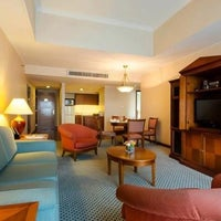 Photo taken at The Linden Suites by Michael Anthony S. on 7/26/2013