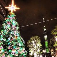 Photo taken at リバーピア吾妻橋 by Tadafumi I. on 12/12/2014