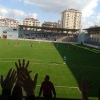 Photo taken at Maltepe Hasan Polat Stadı by Selami Ö. on 10/19/2014