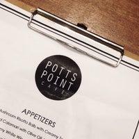 Photo taken at Potts Point Café by Hazell on 12/30/2015