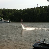 Photo taken at Flyboard by Irina I. on 7/14/2013