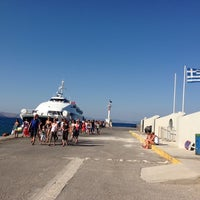 Photo taken at Kos Harbour by N G. on 7/23/2013