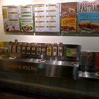 Photo taken at Which Wich? Superior Sandwiches by Prakash P. on 5/17/2014