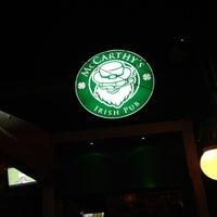 Photo taken at McCarthy's Irish Pub by Misael A. on 12/7/2012