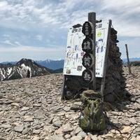 Photo taken at 硫黄岳山頂 by Ktaro Y. on 6/3/2017
