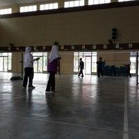 Photo taken at SMK Bandar Setia Alam by Hasrol A. on 4/4/2014