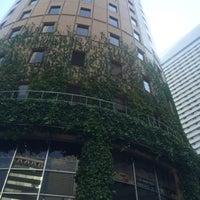 Photo taken at 大阪マルビル 緑のテラス by keiji n. on 5/10/2015