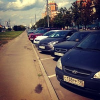 Photo taken at Парковка На Лавочкина by Dmitri S. on 8/23/2013