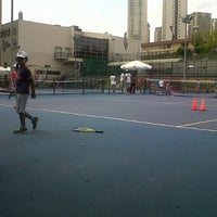 Photo taken at Hillside City Club Tennis Court by Belguzar Seren T. on 7/17/2013