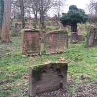 Photo taken at Alter Jüdischer Friedhof by Farah A. on 2/21/2016