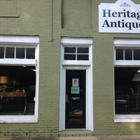 Photo taken at Heritage Antiques by Andrea D. on 8/23/2013