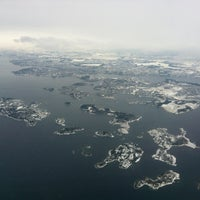 Photo taken at Stavanger Airport Sola (SVG) by Martin Buch L. on 1/26/2013