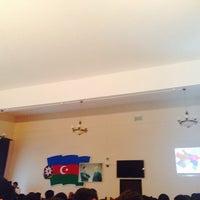 Photo taken at Milli Aviasiya Akademiyası / National Aviation Academy by Mahir on 5/27/2014