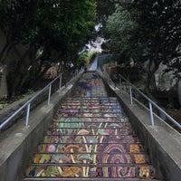 Photo taken at Hidden Garden Mosaic Steps by LukaSH on 9/20/2017