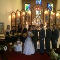 Photo taken at Holy Trinity Greek Orthodox Church by Mike F. on 8/22/2014