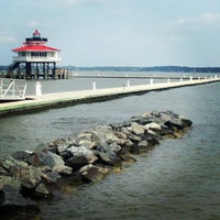 Photo taken at The Choptank River Lighthouse by Mike F. on 9/1/2013
