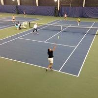 Photo taken at Paramount Tennis Club by Thomas P. on 1/4/2014
