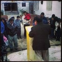 Photo taken at Iglesia Cristiana Príncipe De Paz by David M. on 1/1/2014