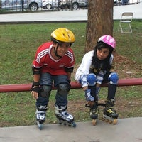 Photo taken at Dunia Inline Skate by hendra on 9/15/2013