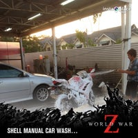 Photo taken at Shell Manual Car Wash BK2 by Zayim S. on 6/30/2013