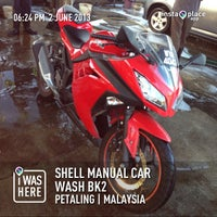 Photo taken at Shell Manual Car Wash BK2 by Zayim S. on 6/2/2013