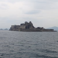 Photo taken at Hashima (Gunkanjima) Island by 🦉🌏 ぎゅ↪︎ん 🌎🦁 ⁑. on 11/4/2012